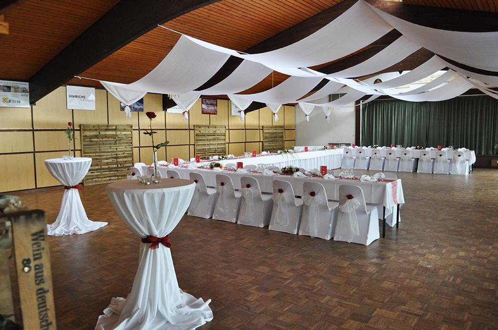 Saal Schützenverein Creidlitz - Hochzeit